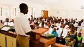 black congregation