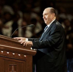 Mormon prophet - Thomas S. Monson